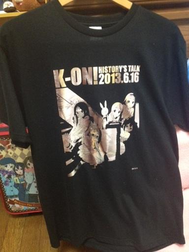 7月11日 けいおんイベ Tシャツ