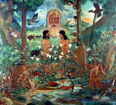 エデンの園でのアダム