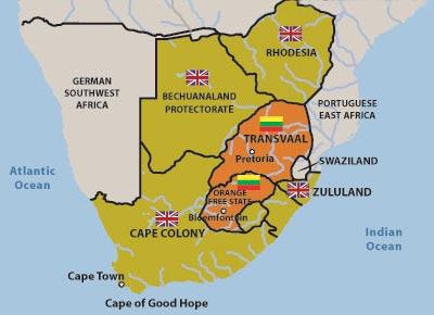 戦争 南アフリカ
