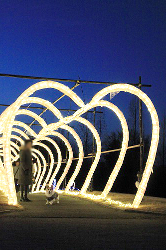 ハートのトンネル
