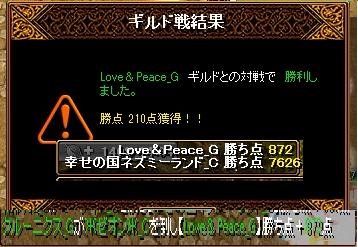 ネズミーvsLove&Peace
