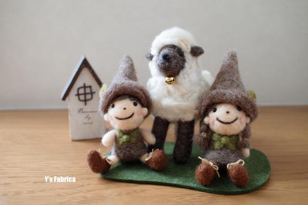 羊とまったり・・・
