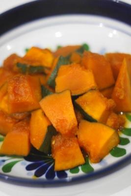 かぼちゃのめんつゆ煮