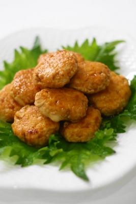 豆腐入り鶏つくね1