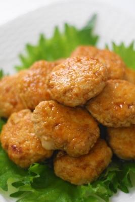 豆腐入り鶏つくね2