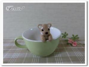 よじのぼり柴犬3