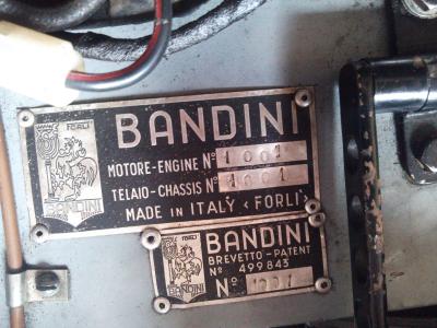 バンディーニ 750スポルト Saponetta