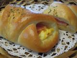 ベーコンエッグパン