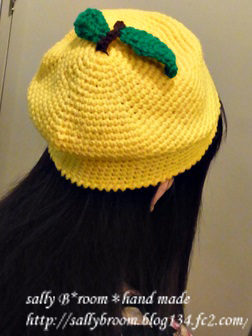 131015 ゆずマン帽子05