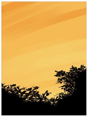 夕焼け小焼けで日が暮れる