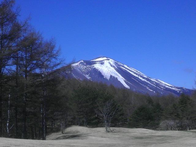 浅間山2014-04