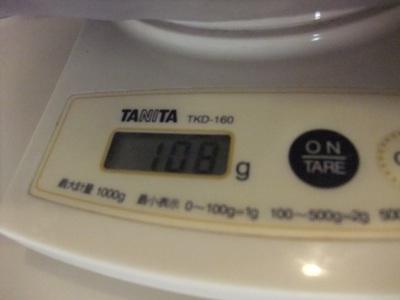 108グラム