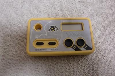 黄色いコントローラー
