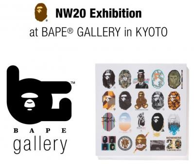 NW20 Exhibition at BEPE GALLERY in KYOTO