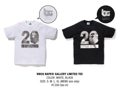 NW20 Tシャツ