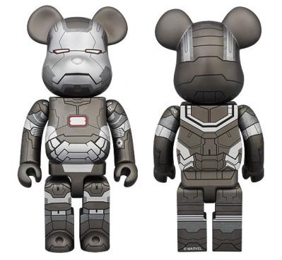 WAR MACHINE 400% BE@RBRICK