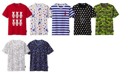 ユニクロベアブリックTシャツ