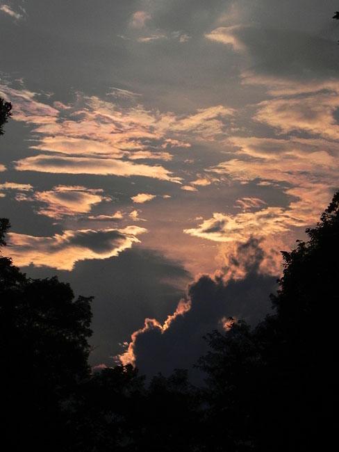 2夕焼け雲17:50