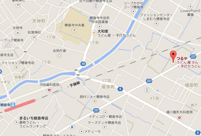 つるや 地図