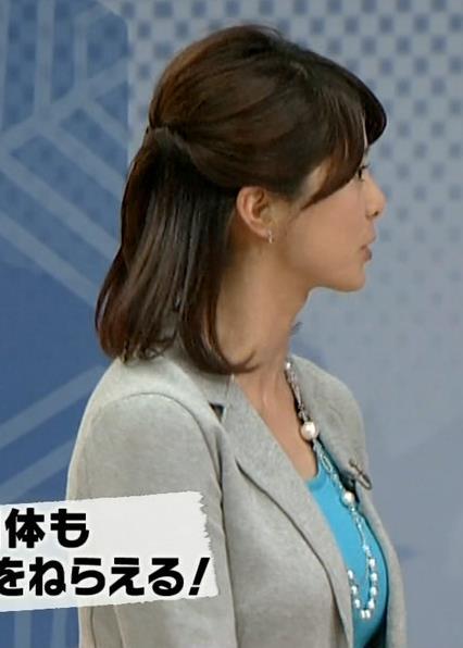 杉浦友紀 巨乳横乳 (サタデースポーツ 20140121)