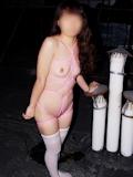 微乳女性 緊縛ヌード画像 8