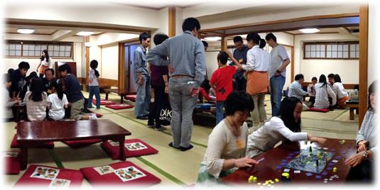 2013-05-05親子ゲーム会 全体の模様