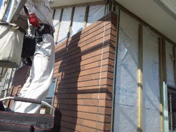 外壁工事1