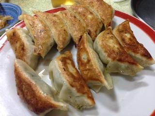 餃子6個と大葉餃子5個