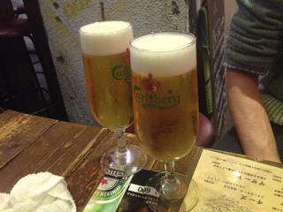 2軒目の乾杯