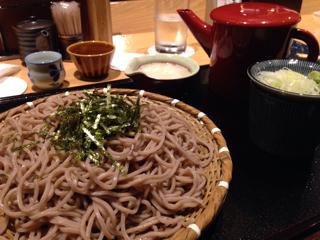 大根おろし蕎麦(大盛り)