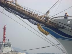 海王丸 船首