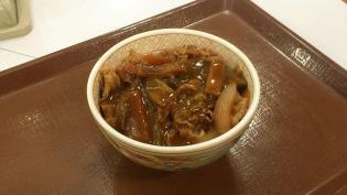 すき家、カレー南蛮牛丼ミニ2