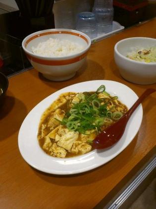 東京チカラめし、本格四川麻婆定食3