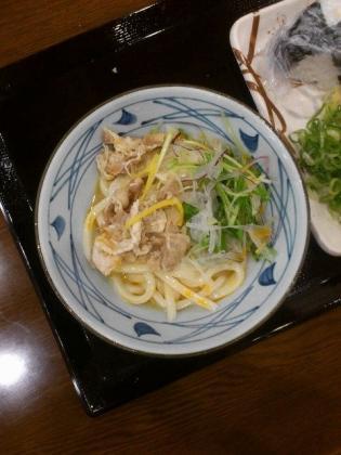 丸亀製麺、牛しゃぶぶっかけフェア、ごまラーぶっかけ(2013年5月15日~)2