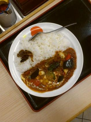 松屋 夏野菜チーズトマトカレー2