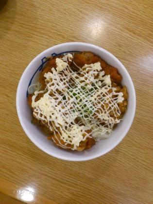 松屋、唐揚げ丼2