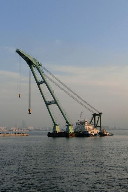 起重機(クレーン)船 アジア7号