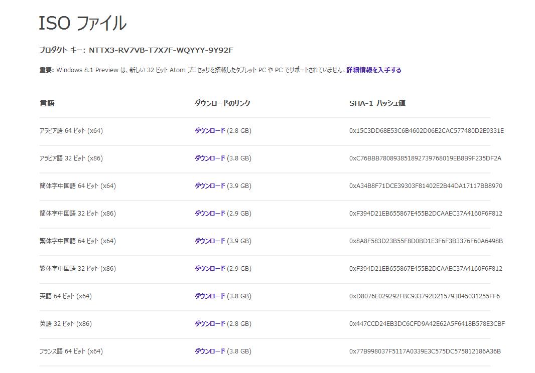 Windows 8 オンライン ダウンロード購入および …