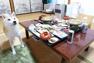 薬研荘のディナー