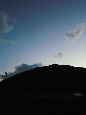 夏の夕暮れ(2013年7月)