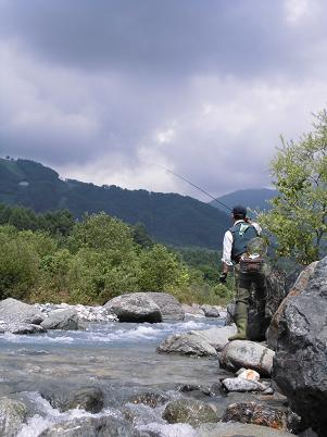 テンカラ釣り師