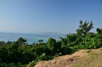 勝連城より見た中城湾