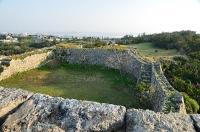 二の郭城壁から見た三の郭
