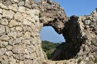 玉城城 城門(裏から)