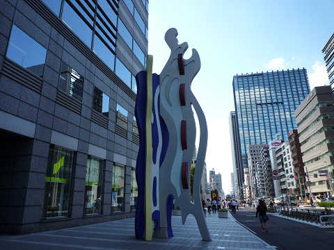 TOKYO BRUSHSTROKE Ⅰ 新宿アイランドタワー