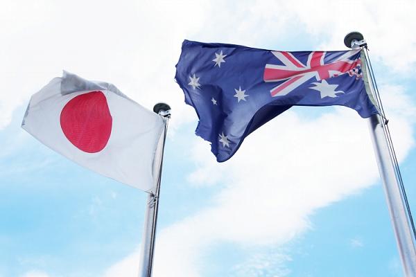日本とオーストラリア