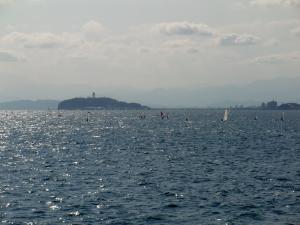 葉山で江ノ島