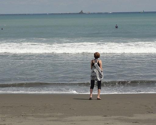 海辺にて6