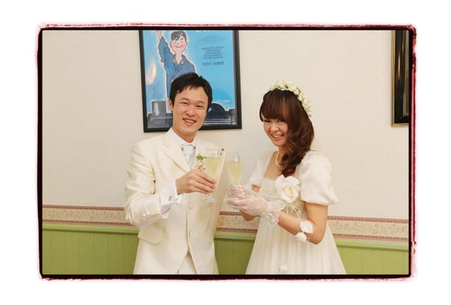 弘前市 フランス料理 レストラン シェ・アンジュ スナップ 写真 撮影 出張撮影 結婚式 ウェディング ブライダル ウェディングパーティー