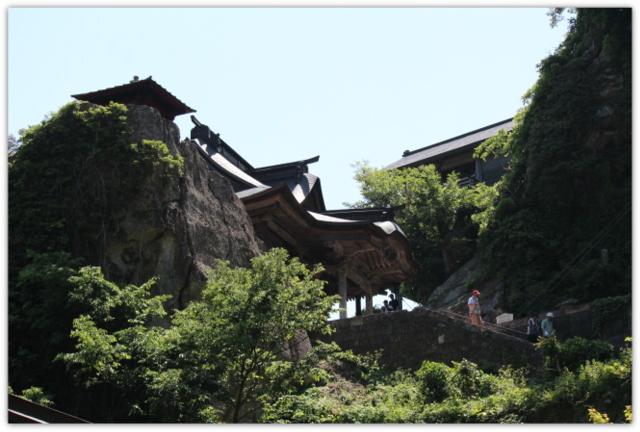 山形県 山寺 立石寺 宝珠山